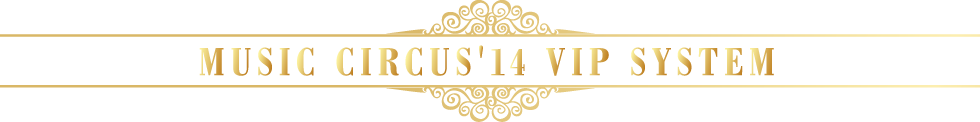 MUSIC CIRCUS'14  VIP SYSTEM